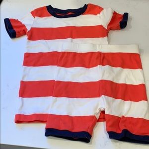 Old Navy Striped Jammies - 6T